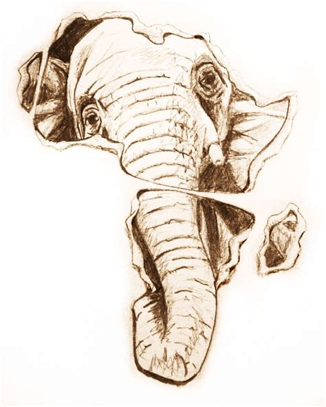 african elephant tattoo elephant design ink design
