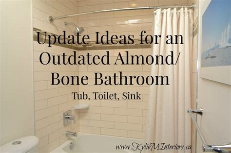 update ideas   almond  bone bathroom tub toilet
