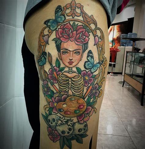 frida tattoo 3 sesi 243 n frida kahlo muchas gracias