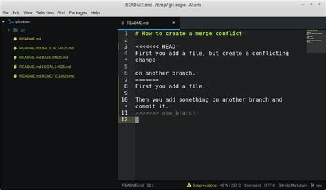 Git Tutorial Merge Conflict | how to create a git merge conflict