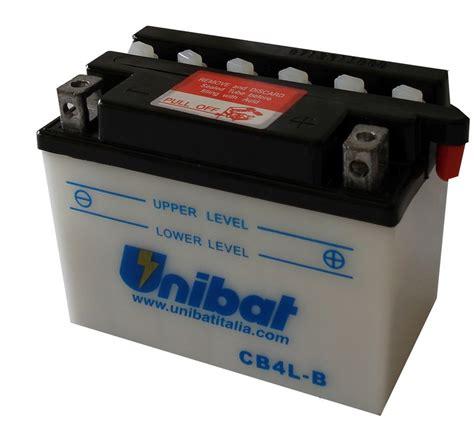 Motorrad Batterie Unibat by Cb4l B 12v 0a обслужваем Unibat Moto