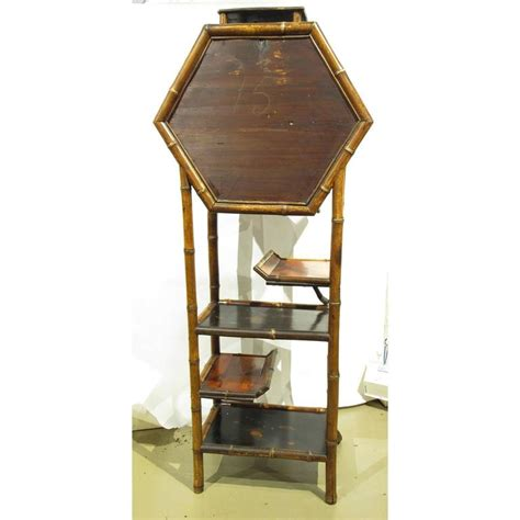 english antique bamboo cabinet with laquer top on antique english aesthetic movement bamboo and lacquer