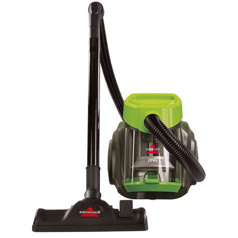 to vacuum shop bissell zing bagless canister vacuum at lowes com