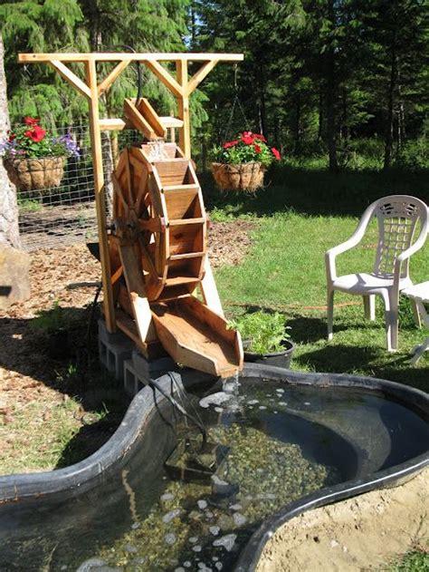water wheel images  pinterest backyard ponds