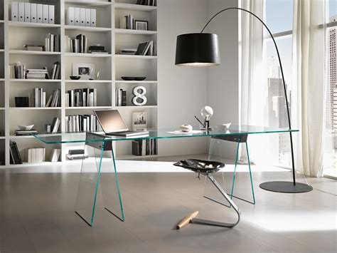 modern glass office glass office desk home office modern with designer desk