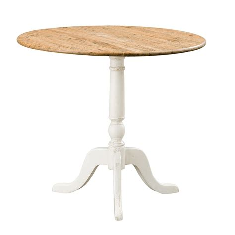 Drop Side Table Provincial Oak Drop Side Table Distressed White Tables Dining