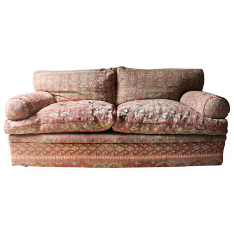 good quality sofa good quality three seat kilim upholstered sofa by george