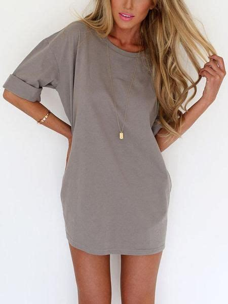 Tshirt Dress On 17 best ideas about t shirt dresses on