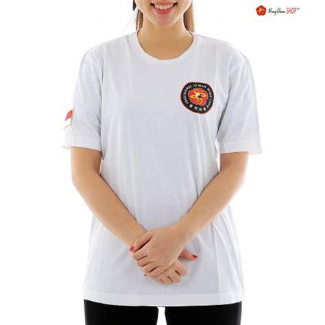 Kaos Tshirt Wings Esports Putih wing chun shop kaos wing chun putih