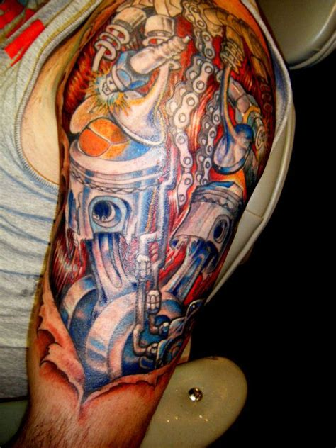 tattoo hot rod art hot rod tattoo pictures to pin on pinsdaddy ink