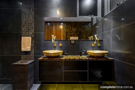 pictures of black bathrooms best of black bathrooms completehome