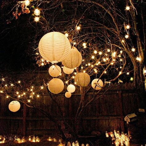 Backyard Lights by 25 Best Ideas About Backyard Lighting On