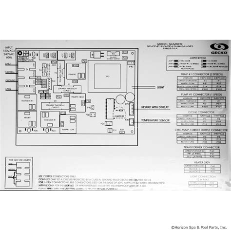 dimension one spa parts diagram gecko s class 4 0kw 120 240v p1 oz lt