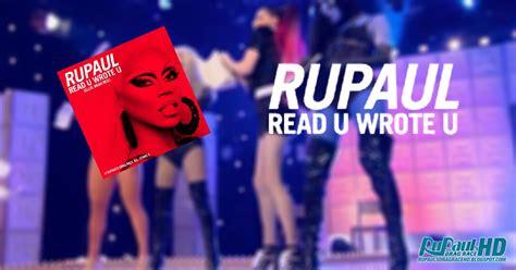 Detox Read U Wrote U by Rupaul Read U Wrote U Drive Itunes Plus Aac M4a