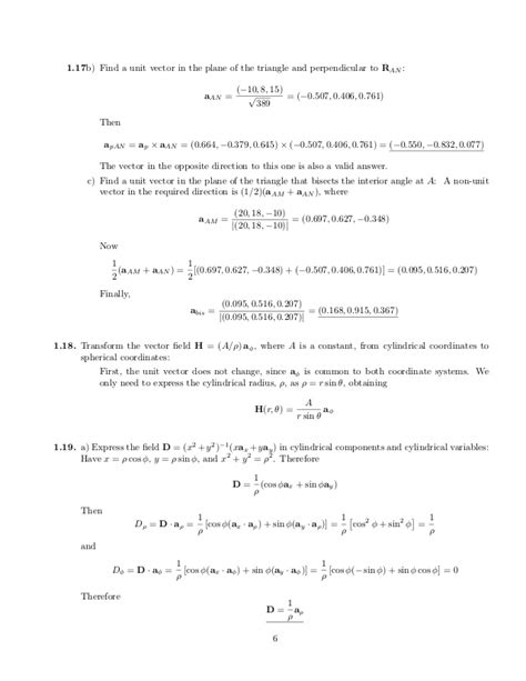 Electromagnetics Solution Manual