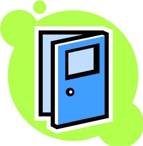 Clip Door by Open Door Free Clipart Clipart Suggest