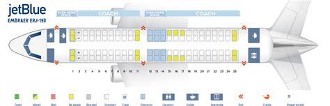 jet seats jetblue seat chart seat map embraer erj 190 jetblue best
