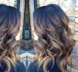 how to do ash ombre highlight on hair dark ash brown with caramel highlights dark brown hairs