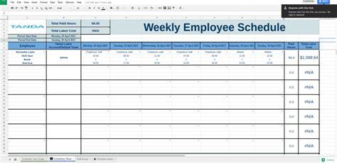 Google Docs Schedule Template Business Plan Template Calendar Template Docs Spreadsheet
