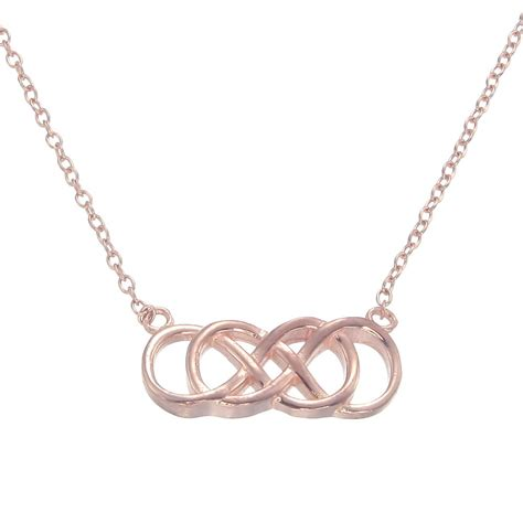 infinity necklace gold infinity necklace