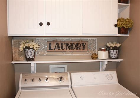 country girl home decorating my shelves country girl home laundry room