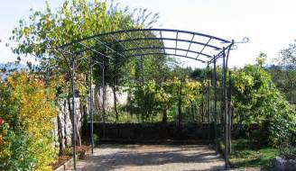 Metal Pergola Uk by Classico Wrought Iron Pergola