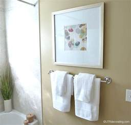 Ideas Hanging Bathroom Towels Pictures Bathroom