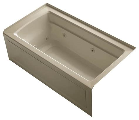 kohler bathtubs home depot kohler jetted bathtubs archer 5 ft whirlpool tub in
