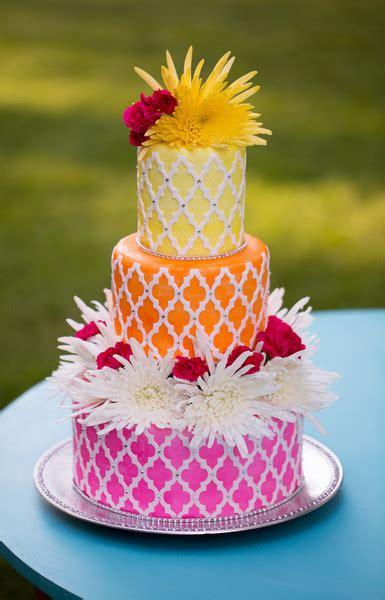 Colorful Wedding Cakes by Colorful Wedding Cakes A Wedding Cake