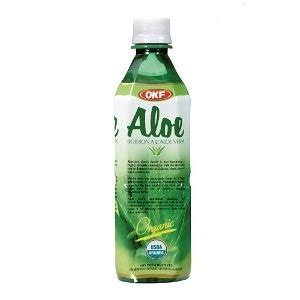 Would You Drink This Aloe Juice by Okf Organic Aloe Vera Drink At Joes