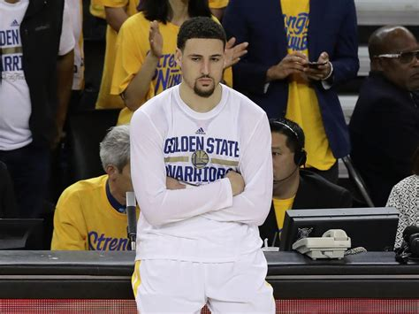 klay thompson klay thompson quote shows pressure is on warriors for 7 of finals business insider