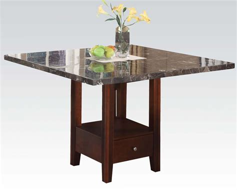 counter height table base base counter height table danville by acme furniture ac01280
