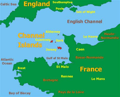map uk and channel islands map of the channel islands