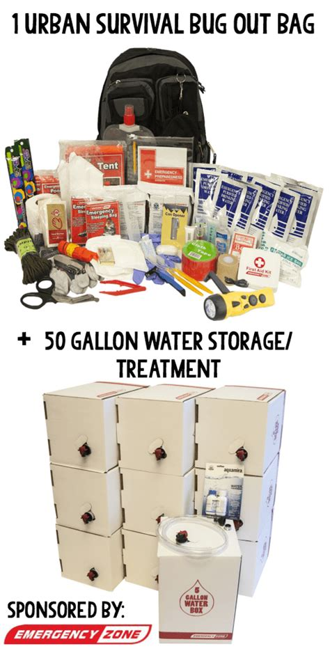 Emergency Preparedness Giveaways - how much water should you store for an emergency giveaway