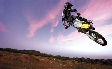 wallpaper hd motocross motocross bike in sky wallpapers hd wallpapers id 259