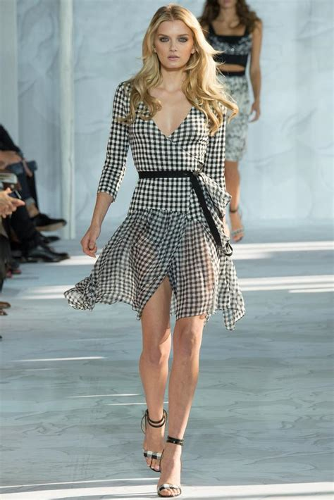 Mischa Gingham Lifestyle Magazine by Nyfw 2015 Emerging Trends Fashion