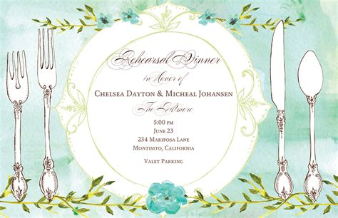 Lunch Card Template by Birthday Brunch Invitations