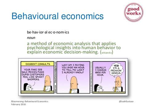 behavioural economics a very how nonprofits can use behavioural economics to increase fundraising