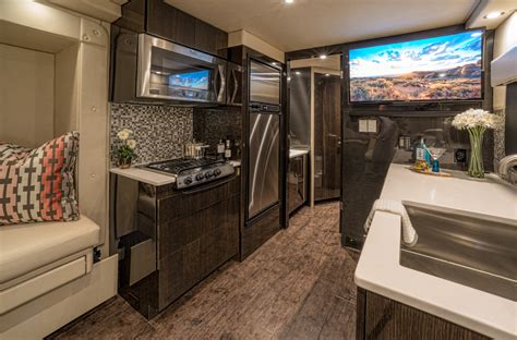 Pre Built Kitchen Cabinets by This Million Dollar Carbon Fiber Trailer Is A Rolling