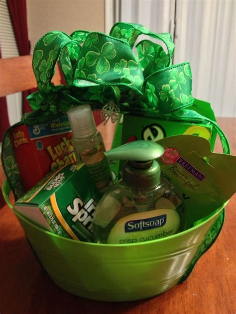 secret s day gifts 14 best green gift basket ideas images on gift