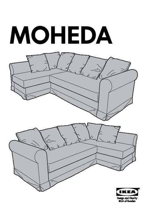 Moheda Sofa Bed Moheda Corner Sofa Bed Blekinge Brown Ikea United States