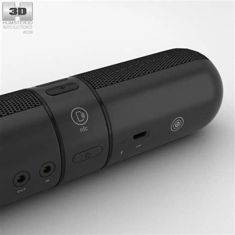 Beats Pill 2 0 beats pill 2 0 wireless speaker black 3d model hum3d