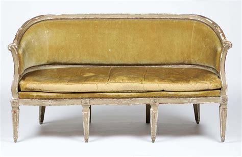 divano luigi xvi divano luigi xvi in legno intagliato e laccato xviii