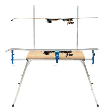 ski service bench holmenkol racing wax table ski servicing bench holmenkol