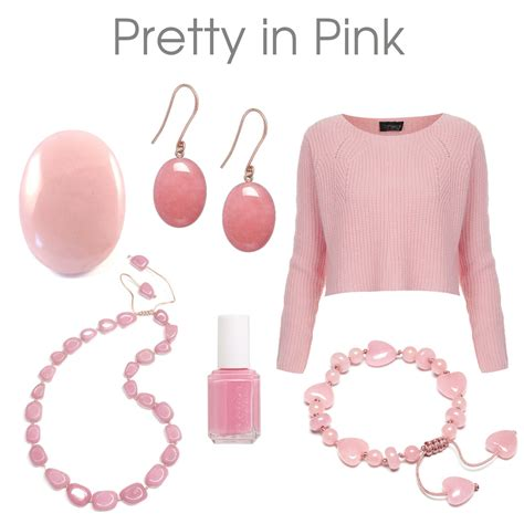 In Pink by Jewellery From Dogeared Satya And