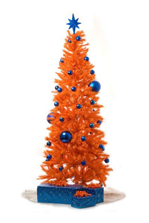 orange christmas tree  quick shot    work