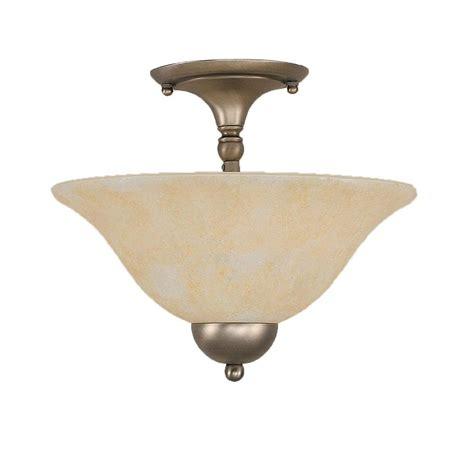 Brushed Nickel Semi Flush Ceiling Light Filament Design Concord 2 Light Brushed Nickel Ceiling Semi Flush Mount Light Cli Tl5009531