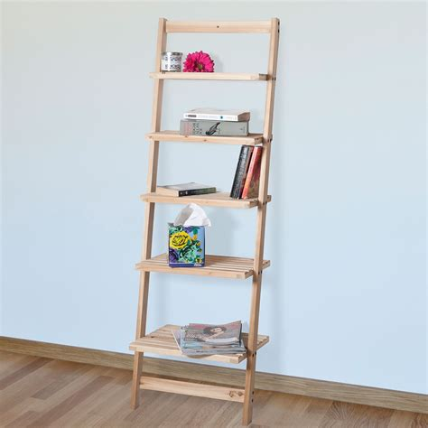 ladder bookcases ladder shelf bookcases walmart