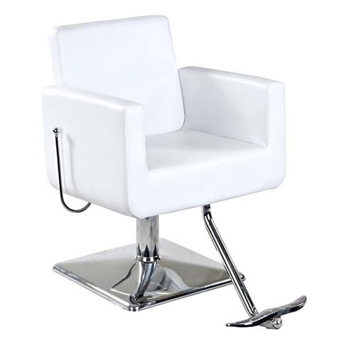 reclining salon styling chair new white european reclining salon styling chair sc 32w ebay
