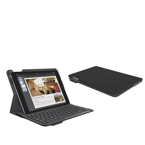 Keyboard Air 2 logitech type protective with integrated keyboard for air 2 black